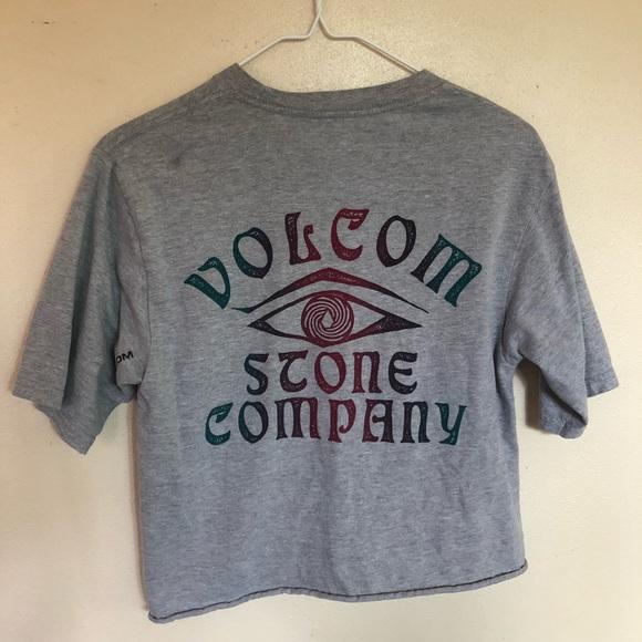 Volcom Tops - Volcom Crop Tee